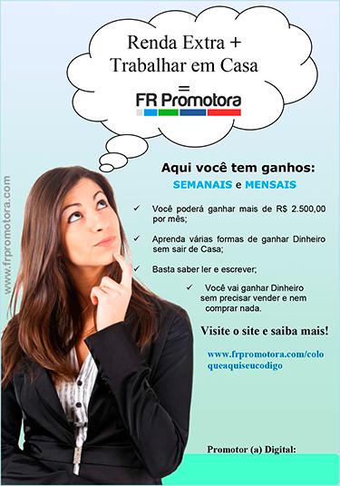 FR Promotora,renda_extra,trabalho_em_casa